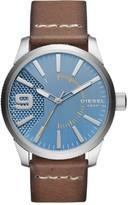 Diesel Men's Rasp DZ1804 Brown Leather Quartz Fashion Watch