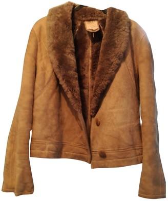 Celine Beige Wool Coat for Women Vintage