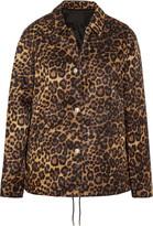 Alexander Wang Leopard-print Shell Jacket - Leopard print