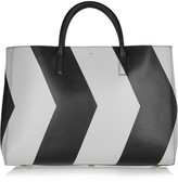 Anya Hindmarch Ebury Maxi reflective chevron leather tote