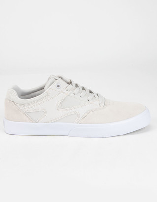 DC Kalis Vulc Mens White Shoes