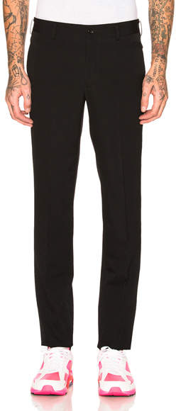 Comme des Garcons Wool Gabardine Trousers