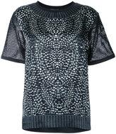 Barbara Bui rhinestone print T-shirt