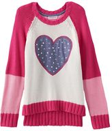 Design 365 High-Low Sweater - Toddler Girl