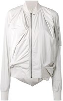 Rick Owens Swoop bomber jacket - women - Cotton/Polyester/Cupro - 44