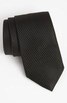 David Donahue Men's Woven Silk Tie