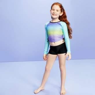More than Magic Girls' Solid Boyshort Swim Shorts - More Than MagicTM Black
