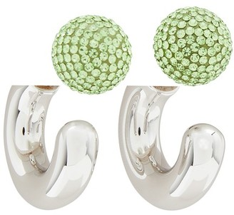 "Marc Jacobs The Bubbly"" small hoop earrings"