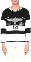 Boy London Rugby cotton sweatshirt