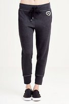 True Religion Patch Work Skinny Womens Sweatpant