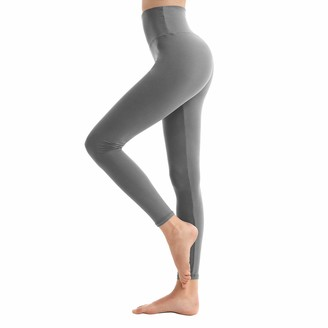 SINOPHANT High Waisted Leggings for Women Buttery Soft Elastic Opaque Tummy Control Leggings Plus Size Workout Gym Yoga Stretchy Pants(Black2 Plus Size)