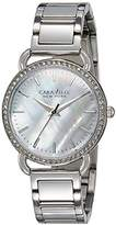 Bulova Women's Quartz Stainless Steel Casual Watch, Color:Silver-Toned (Model: 43L184)