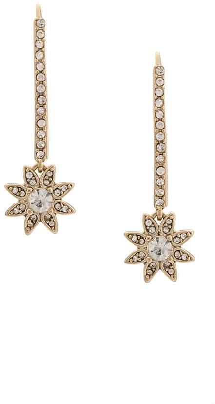 Marchesa star stud earrings