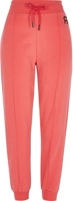 River Island Womens Petite Red Branded Jogger