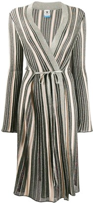 M Missoni Metallic Knit Longline Cardigan