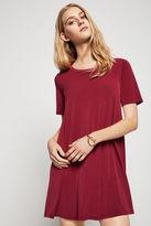BCBGeneration A-Line Twill Knit Dress