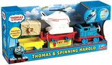 Thomas & Friends thomas the tank engine & spinning harold by fisher-price