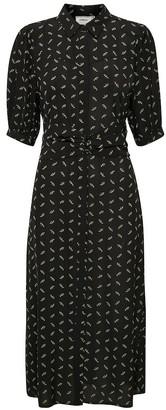 Gestuz BelinaGZ Dress in Black Flower - small | viscose