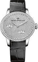 Girard Perregaux Girard-Perregaux 80489D53A1B1-CK6A Cat's Eye alligator-leather and diamond watch