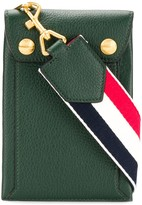 Thom Browne Airmail Print Envelope Phone Holder
