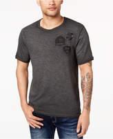 Buffalo David Bitton Men's Embroidered Patch T-Shirt