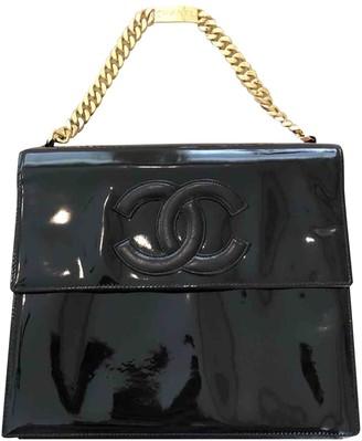 Chanel Black Patent leather Handbags