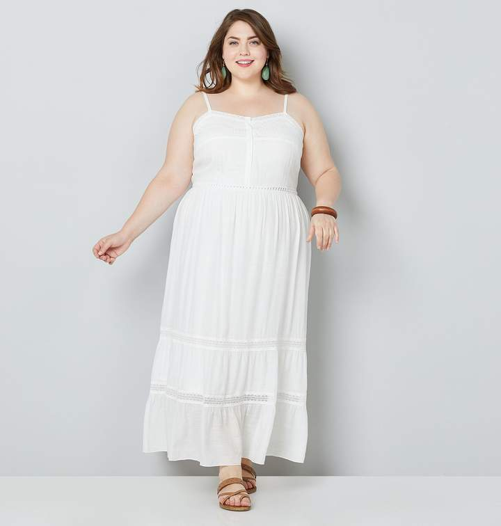b7db0e6b8a Avenue White Plus Size Dresses - ShopStyle