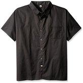 Dickies Men's Plus-Size Snap Button Cook Shirt