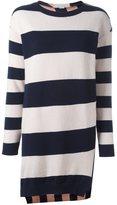 Stella McCartney striped shift mini dress