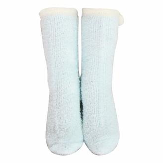 Celcuke Socks 2019 New Women's Warm Knitting Cute Floor Towel Socks Fluffy and Cosy Blissful Bed Time Socks Celucke Non-slip Multicolor Toe Knee Calf Mid Tube Socks Party Gifts Slipper Stockings