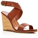 Dolce Vita Havana Wood Wedge Sandals