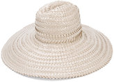 Gigi Burris Millinery interlaced sun hat - women - Straw - One Size