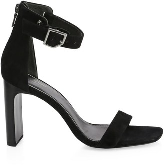 Rag & Bone Ellis Ankle-Strap Suede Sandals