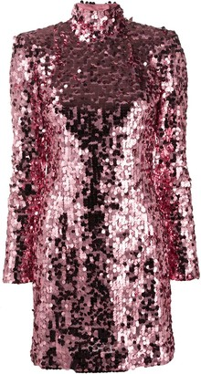Dolce & Gabbana Sequined Short Dress