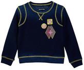 True Religion Paneled Pullover (Toddler & Little Girls)