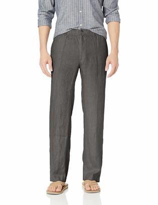 Amazon Brand - 28 Palms Linen Drawstring Pant Casual