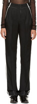 Paco Rabanne Black & White Pleated Trousers