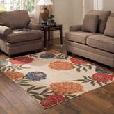 """Better Homes & Gardens Better Homes and Gardens Peonies Berber Print Floral Area Rug (1'8""""x2'10"""")"""