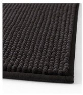 Ikea Black Toftbo Supersoft Bath Shower Mat Rug Bathtub Bathroom Floor