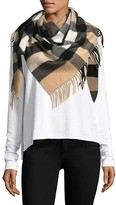 Thumbnail for your product : Burberry Half Mega Cashmere Scarf