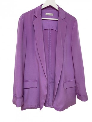 Richard Nicoll Purple Silk Jacket for Women