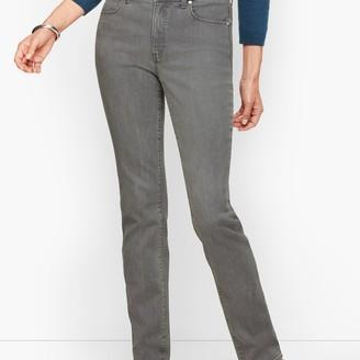 Talbots Straight Leg Jeans - Curvy Fit - Deep Grey
