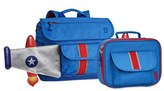 Bixbee Boy's 'Rocketflyer' Backpack & Lunchbox - Blue