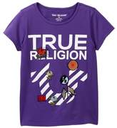 True Religion Stripe Horseshoe Tee (Big Girls)