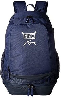 Nike Vapor Select Baseball Backpack (Midnight Navy/Obsidian/White) Backpack Bags