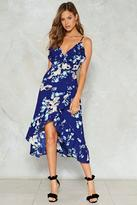 Nasty Gal nastygal Make the Best of a Bud Situation Floral Dress