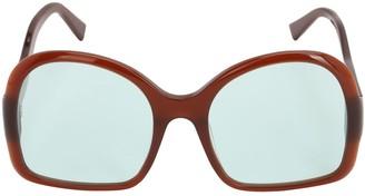 Oversize Acetate D-frame Sunglasses