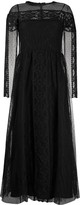 RED Valentino Tulle Macrame Long Dress