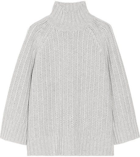 Michael Kors Chunky-knit cashmere and wool-blend sweater