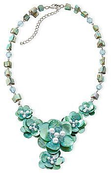 JCPenney Mixit® Flower Y-Necklace